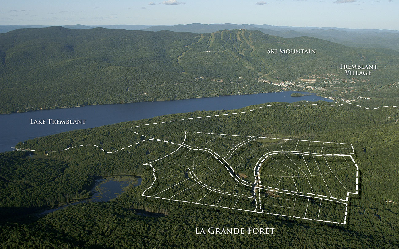La Grande Foret - Locations and available lots