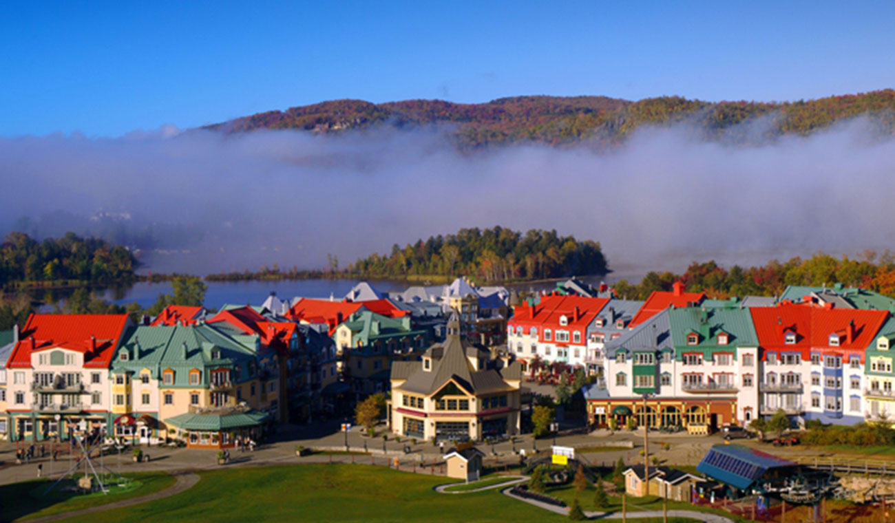 La Grande Forêt is located in the heart of Mont Tremblant