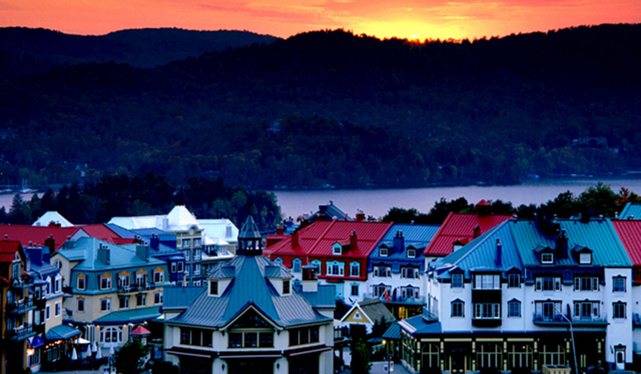 Mont Tremblant Village in Canada