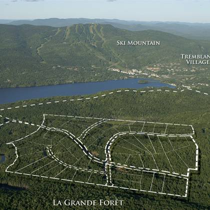 The Location - La Grande Foret, Mont Tremblant