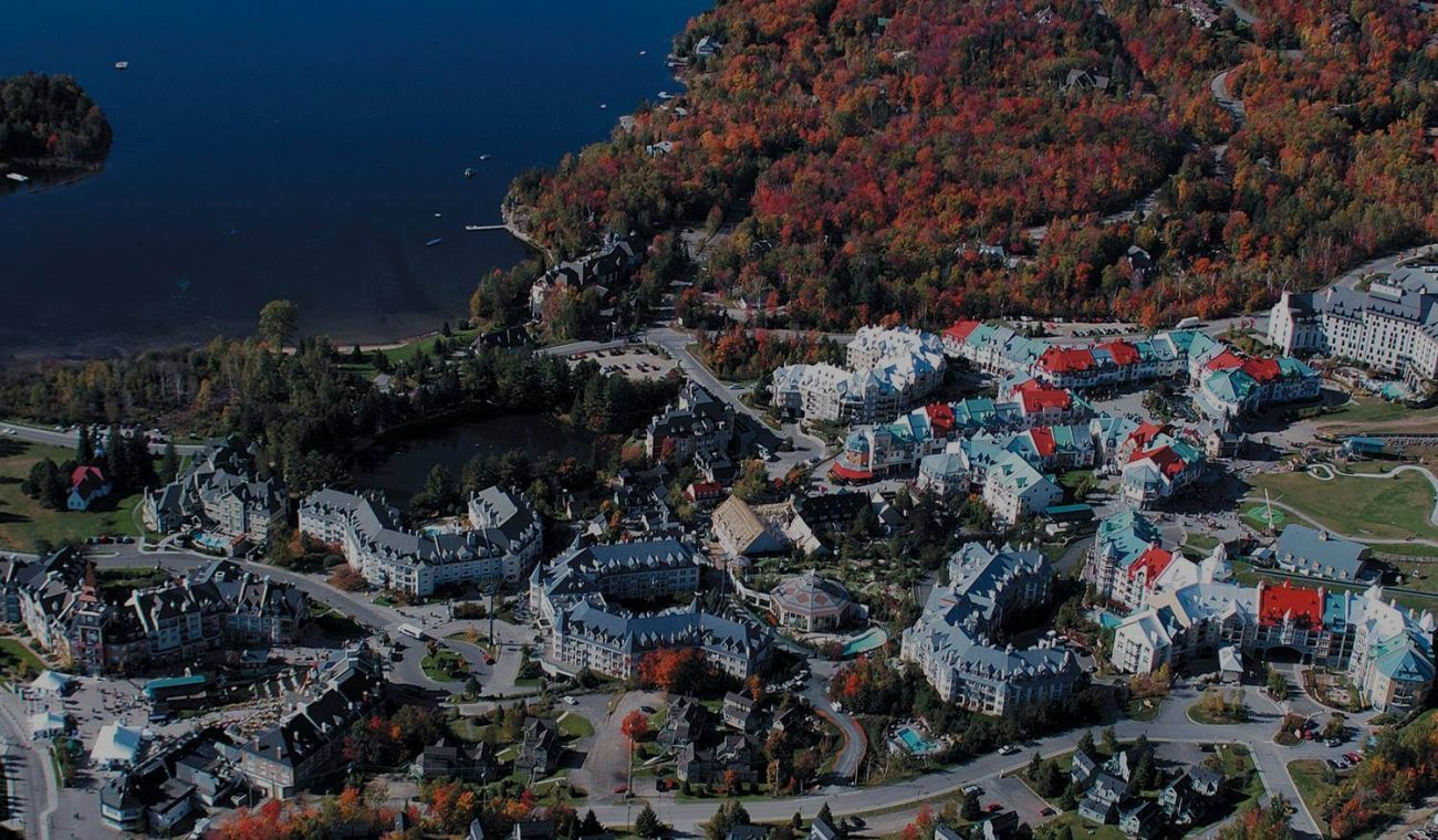 Mont-Tremblant Village, City in Québec, Canada.