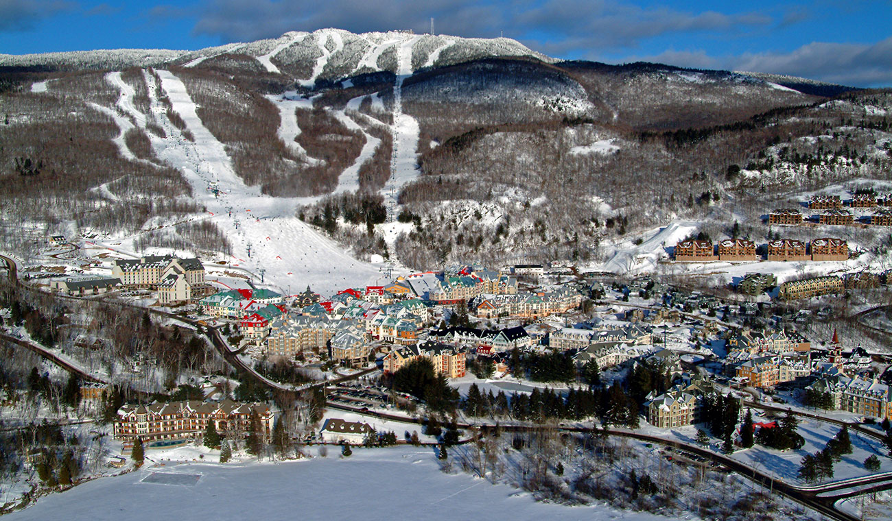 Mont Tremblant Ski Resort - Aerial View